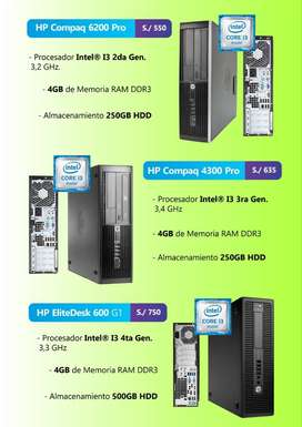 CPU HP I3 DE 4TA 600 G1.