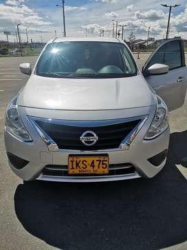 Vendo Nissan versa 2016 economico
