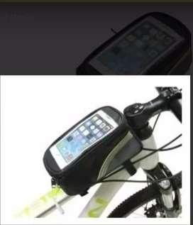 Portacelular bicicleta