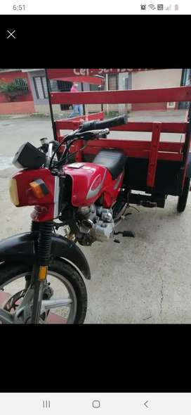 Motocarro jialing 125 excelente estado