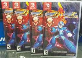 Megaman X Legacy Collection 1 Y 2 Nintendo Switch Nuevo Sellado Stock