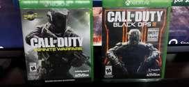Call of duty infinite y Black Ops 3