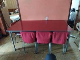 Mesa comedor en Formica