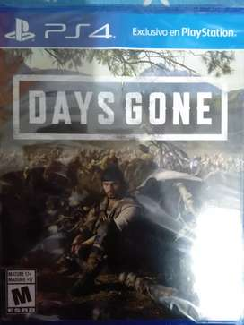 Days Gone Nuevo Sellado