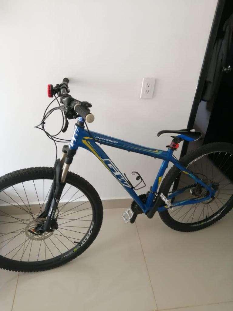 Bicicleta Gw Piraña 2018 0