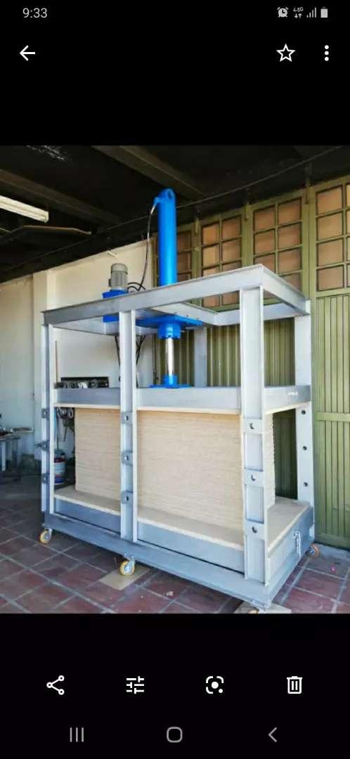 Compactadoras prensas sistemas hidráulicos permutas