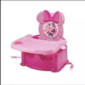 Hermoso comedor rosado minie mouse