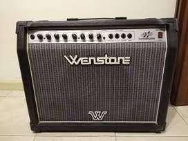 VENDO AMPLIFICADOR DE GUITARRA WENSTONE GE600 60W (casi nuevo sin uso prácticamente)