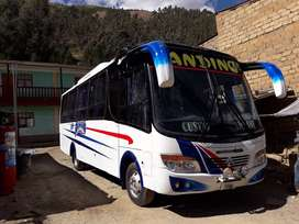 Venta de bus  interprovincial