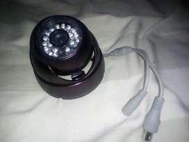 Cámaras de  Seguridad Nocturna Tipo Domo Metálico Antivandalica 2mp Cmos 1080p