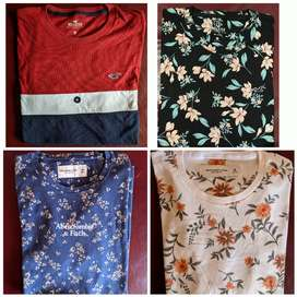 Camisas Hollister y Abercrombie
