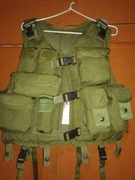 Chaleco Tactico Militar Salvavidas Made In Usa Casaca Mochila policia