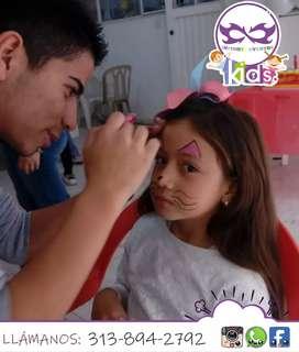 Recreación de fiestas infantiles recreación animación show infantil pintacarita payasito globoflexia decoración