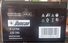Bateria Duncan para moto scooter