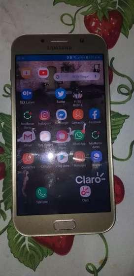 Samsung galaxy A7 2017 en excente estado NEGOCIABLE