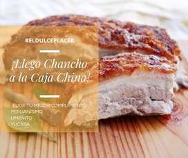 Chancho a la Caja China