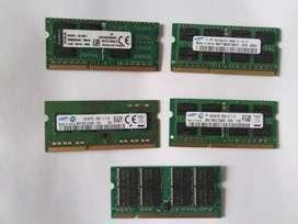 Memoria Ram para laptop