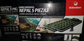 Combo Nepal 5 Piezas Nuevo