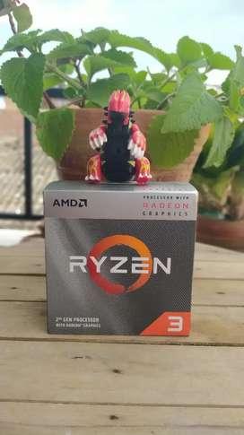 Ryzen 3 3200G con gráficos integrados nuevos y sellado. Garantía de 6 meses + envío gratis !