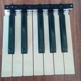 Piano yamaha teclado o sintetizador teclas de repuestos