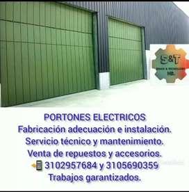 Portones eléctricos