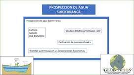 Se realiza búsqueda de agua subterránea, geoeléctrica, SEV, en Motavita.