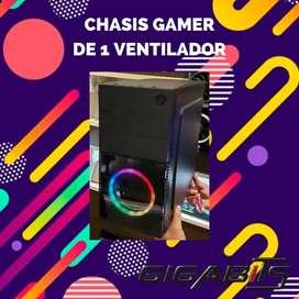 Chasis 1 Ventilador RGB + Fuente Thunder