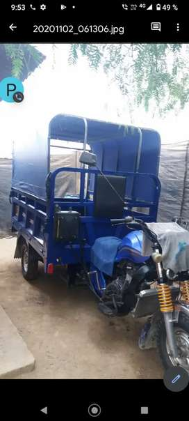 Moto carguero zong shen