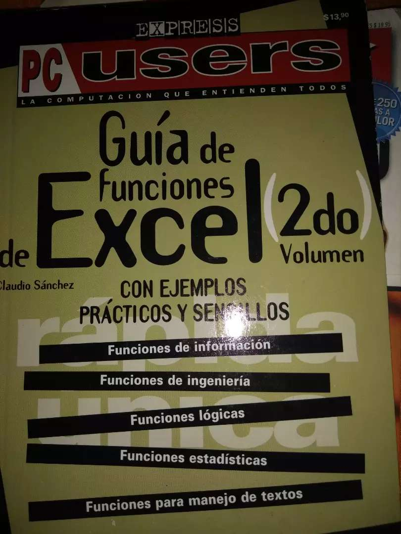 """""""Guía de funciones de Excel"""" 0"""