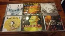 6 discos de Radiohead