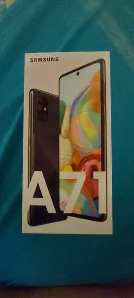 Samsung Galaxy a 71 1 semana de uso