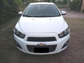 Vendo Chevrolet Sonic Lt 2013 con gnc