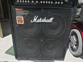 Vendo amplificador Marshall 450 w