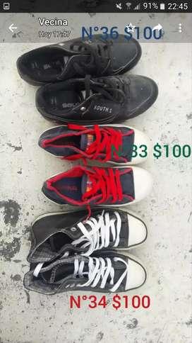Vendo calzados usados
