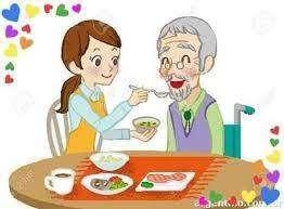 cuidadora de ancianos y servicios de limpieza