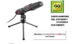 MICROFONO GTX-212 3,5 Y USB SIN DISTORSION