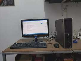 Equipo de escritorio marca HP