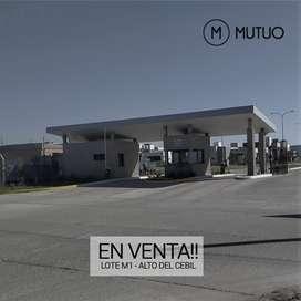 ALTOS DEL CEBIL - CEBIL REDONDO LOTE EN VENTA - MZA M LOTE 01