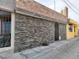 Venta Casa de un piso con 3 habitaciones cerca al Colegio Cristo Rey de la ciudad de Tacna