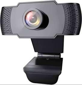 Cámara Web 1080p Full Hd Con Micrófono Nueva