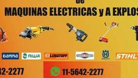 Reparacion Grupos Electrógenos Amoladora Taladro Rotomartillo Sierra