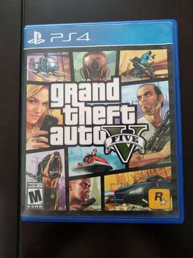 Vendo GTA 5 ps4