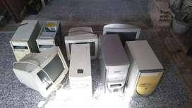 MONITORES Y CPUs