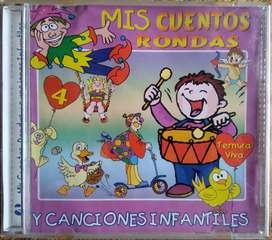 Mis Cuentos, Rondas y Canciones Infantiles (CD Original)