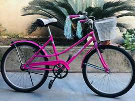 Bicicleta para niña nueva rodado 24