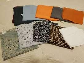 Pañuelos de seda.
