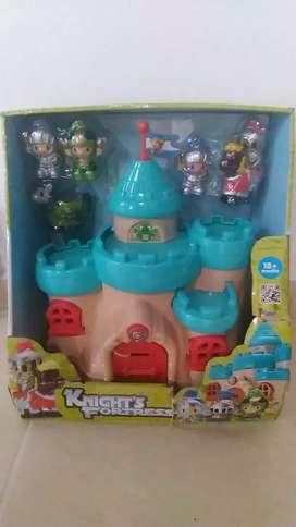 Castillo con muñecos
