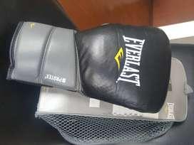 cambio guantes Everlast de boxeo con Gel - 14 onzas