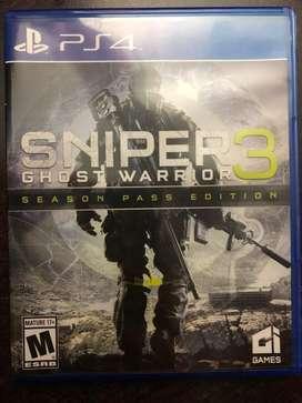 Sniper Ghost Warrior 3 PS4