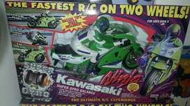 Moto  kawasaki .nueva